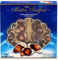 Шоколадные конфеты Maitre Truffout Feine Meeresfrüchte 250g (Австрия)