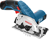 Аккумуляторная циркулярная пила Bosch GKS 12V-26 Professional (2 А/ч, 1400 об/мин)