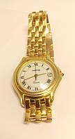 """Часы золотые с браслетом """"Cartier"""", 18 камней. 750 проба."""