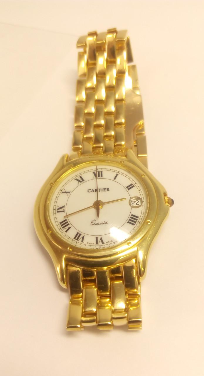 Купить золотые часы cartier миасс часы купить в