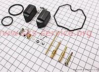 Ремонтный комплект карбюратора 125-150сс, 14 деталей+поплавок на мотоцикл VIPER -125-J