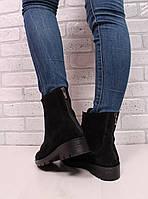 Ботинки спереди резинка, сзади молния