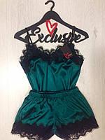 Утонченный и романтичный женский комплект майка и шорты для дома ТМExclusive.