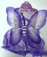 "Новогодний Костюм ""Бабочка"" 35*43 см Фиолетовый №90750-PN 50805 Китай"