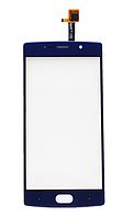Оригинальный тачскрин / сенсор (сенсорное стекло) для Doogee BL7000 (синий цвет)