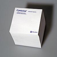 Листочки для записей с логотипом