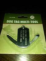 Мультитул жетон Rothco Dog Tag Multi-Tool