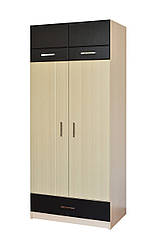 Шкаф 2Д1Ш (двухсекционный) Макс Летро
