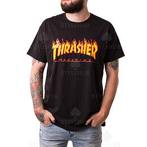 Thrasher Magazine футболка черная \ Бирка