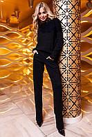 Женский костюм Моренти черный с брюками