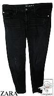 Женские брюки Zara  с потертостями