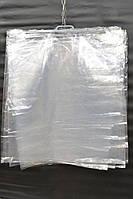 Полиэтиленовая упаковка прозрачная с ручками  75*82 см.