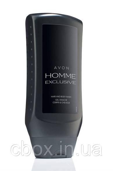 """Гель для душа для мужчин """"Avon Homme Exclusive"""", Эйвон, Avon, 250 мл, 95768"""