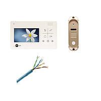 Комплект видеодомофона Neolight NeoLight Delta и вызывной панели NeoLight Start.