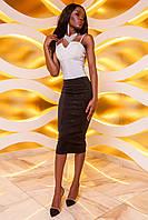 Женска юбка-карандаш Лурдес черный