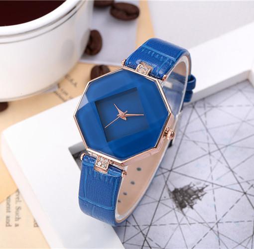 Женские наручные часы Classic синие, Жіночий годинник синій, кварцевые женские часы