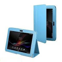 Кожаный чехол-книжка TTX с функцией подставки для Sony Xperia Tablet Z /для СОНИ ИКСПЕРИЯ/