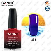 Термо гель- лак Canni 331 темно-синий - фиолетовый