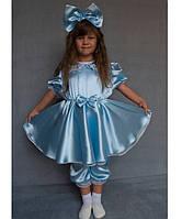 Детский карнавальный новогодний костюм Мальвина