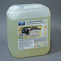 Моющее средство для дезинфекции, санузла, концентрат, PRIMATERRA Dez-1, 5л