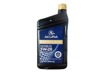 Моторное масло ACURA synthetic blend 5w-20 095л (08798-9032)