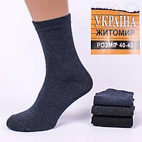 Мужские всесезонние носки Украина Житомир 01-20. В упаковке 12 пар