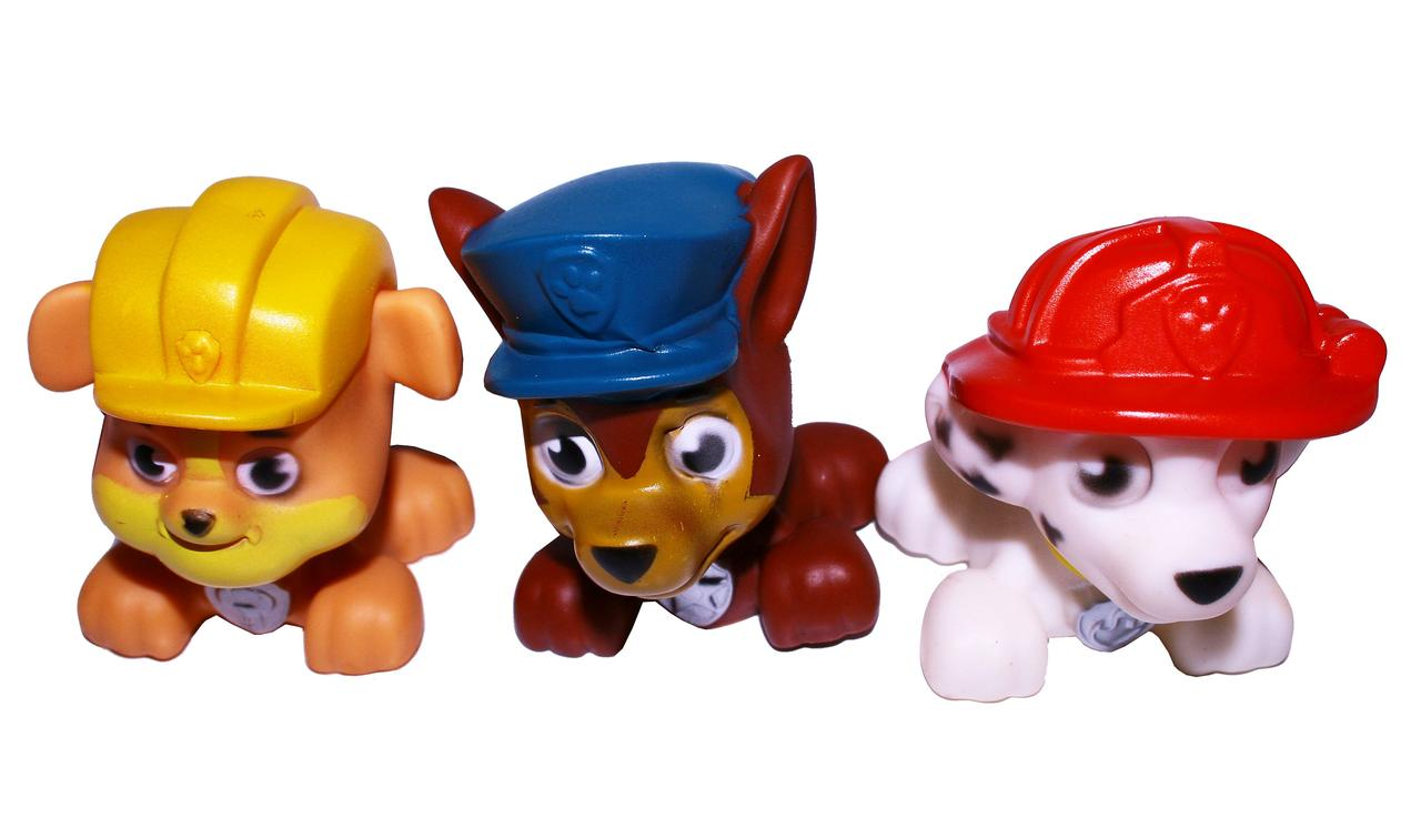 """Набор игрушек """"Щенячий патруль"""" (3шт/набор)"""