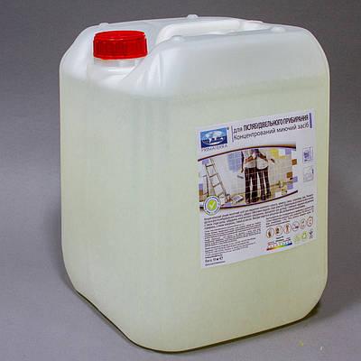 Моющее средство для послестроительного клининга, пенное, концентрат, PRIMATERRA MK, 5л