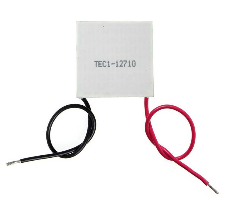 Элемент Пельтье мощностью 100Вт 12V10A TEC1-12710 теплонасос термоэлектрический элемент
