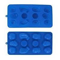 """Форма силиконовая для льда/конфет 21.5*11*1.5см """"фрукты"""" Kamille, арт. 7712"""