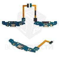 Шлейф для мобильного телефона Samsung I8262 Galaxy Core, copy, коннектора зарядки, с микрофоном, с компонентам