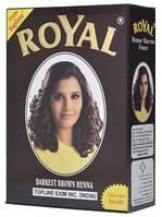 Индийская хна басма темно-коричневая Royal натуральная