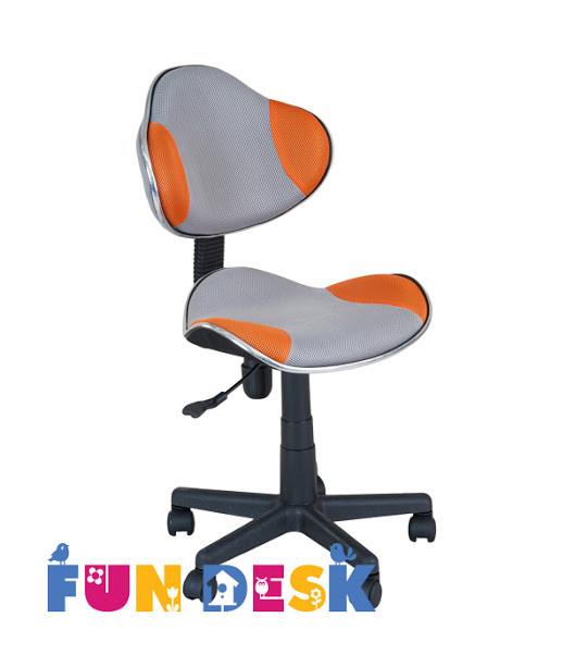 Детское  кресло FunDesk LST3 Orange - Grey