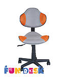 Детское  кресло FunDesk LST3 Orange - Grey, фото 2