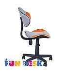 Детское  кресло FunDesk LST3 Orange - Grey, фото 3
