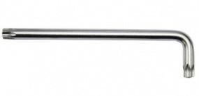 Ключ Г-образный TORX экстра длинный с отверстием T15H