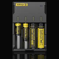 Универсальное зарядное устройство Nitecore Intellicharger i4  Для Li ion, Ni Cd и Ni Mh