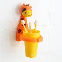 Стаканчик для зубной щетки Babyhood Жираф