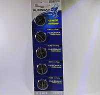 Часовые батарейки PLEOMAX CR 2032 / 5 BL