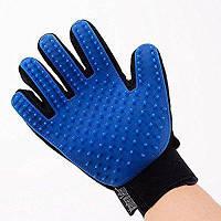 Перчатка Pet Brush Glove для вычесывания животных, перчатка чесалка