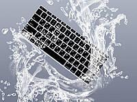 """Apple MacBook Pro 13/15/17""""  Накладка силикон на клавиатуру клавиша ENTER верт. раскладка EU черный"""
