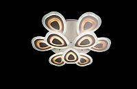 Светодиодная люстра с пультом  белая 8088-6+3, фото 1