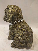 Статуэтка (копилка) щеночек золото, фото 3