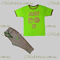 Детские  спортивный костюм летний опт (Бриджи+футболка)