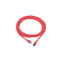 Патч-корд MOLEX RJ45, FTP 5e, 1.0м, LSZH, красный(PCD-03001-0C)