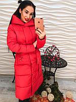 Теплое зимнее пальто на синтепоне (разные цвета)