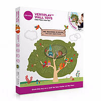 Oribel Настенная игрушка Veritiplay Дом мистера Белки на дереве, настенная детская игра, игрушка-пазл