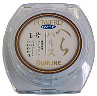 Леска Sunline POWERD HERA HARRIS 50м #0.2/0.074мм