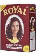 Индийская хна басма бургунд Royal натуральная