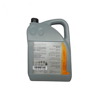 Моторное масло Mercedes Benz PKW Synthetic Motorenöl 229.50 5W-30 5л (A0009899701AAA4)